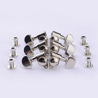 1Set 3R 3L Genuine Grover Guitar Machine Heads Tuners 1 18 Nickel Without Original Packaging