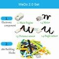 280 шт./лот  технический Набор строительных блоков WeDo 3 0 для робототехники  совместимые с legoin Wedo 2 0  развивающие игрушки DIY 45300