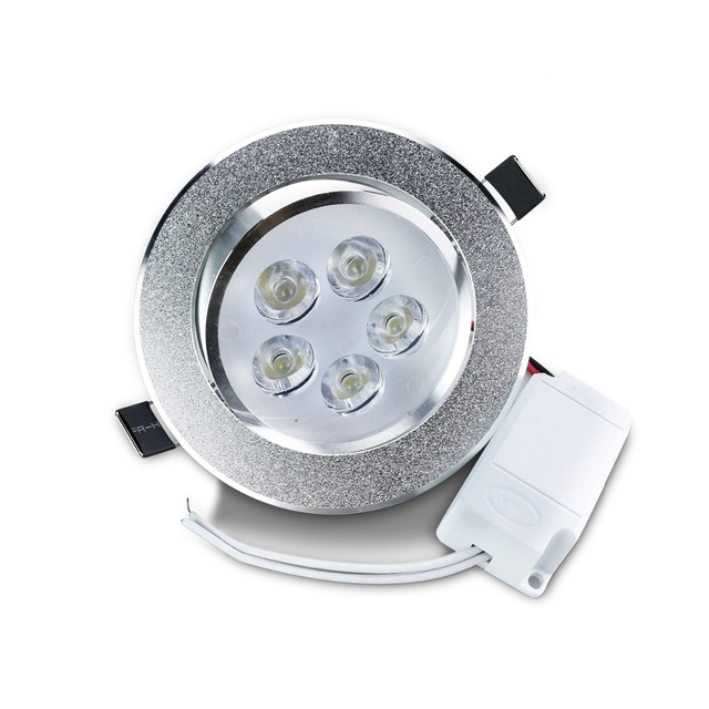 Silver LED Ceiling Light