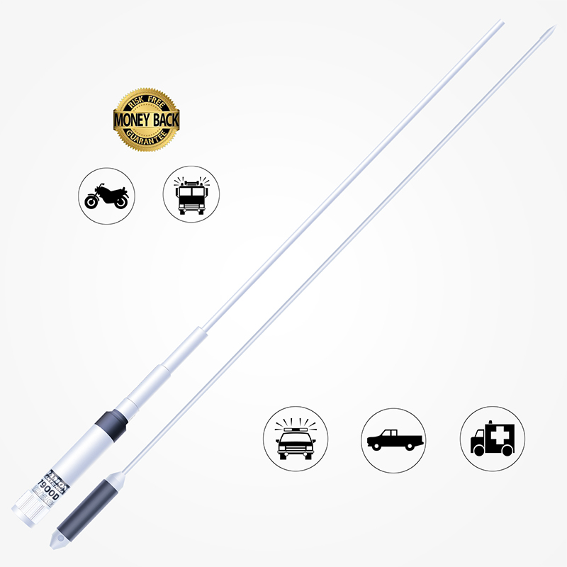 SOCOTRAN ST-7900D Quad Band Mobile Radio Antenna Foldable VHF/UHF PL259 Connector Mobile Transceiver Antenna For Car Radio