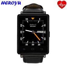 No. 1 D6 3G Smartwatch telefon GPS Tracker Android 5.1 1,3 GHz 1 GB RAM 8 GB ROM 1,63 zoll WiFi Bluetooth 4,0 GPS Smart Uhren