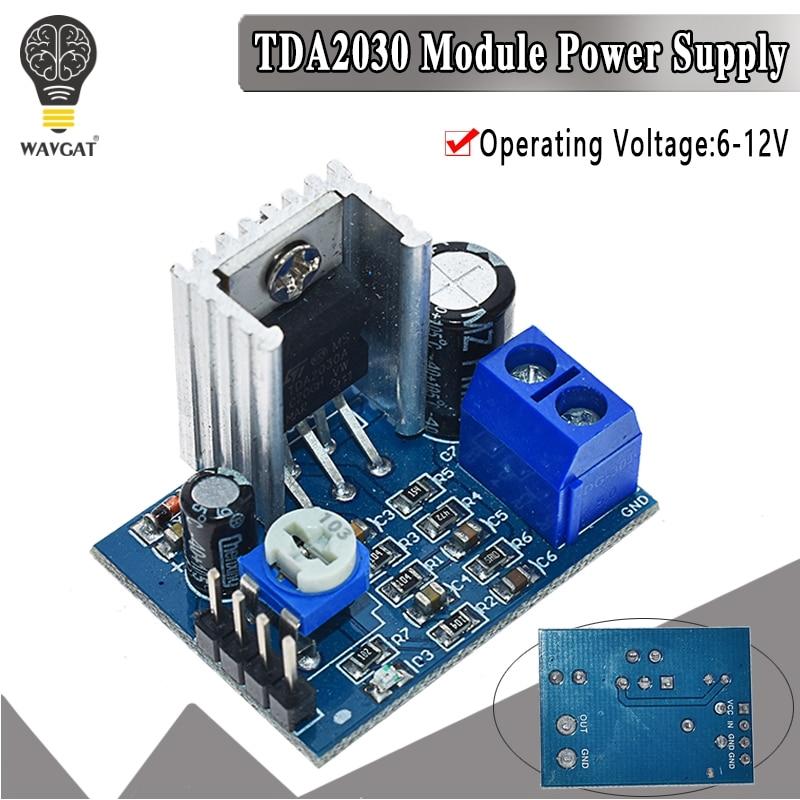 tda2030a power supply - TDA2030 Module Power Supply TDA2030 Audio Amplifier Board Module TDA2030A 6-12V Single