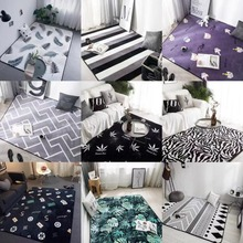 Cartoon Kids Multi-size Carpets Child Bedroom Crawl Mat Baby LivingRoom Play Game Rectangle Tapete Room Home Big Area Rugs
