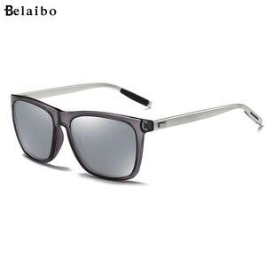 Image 1 - למעלה איכות גברים מקוטב משקפי שמש יוקרה מותג מעצב 2019 אופנה טייס נהיגה משקפיים שמש Mens שחור מחשב משקפי שמש