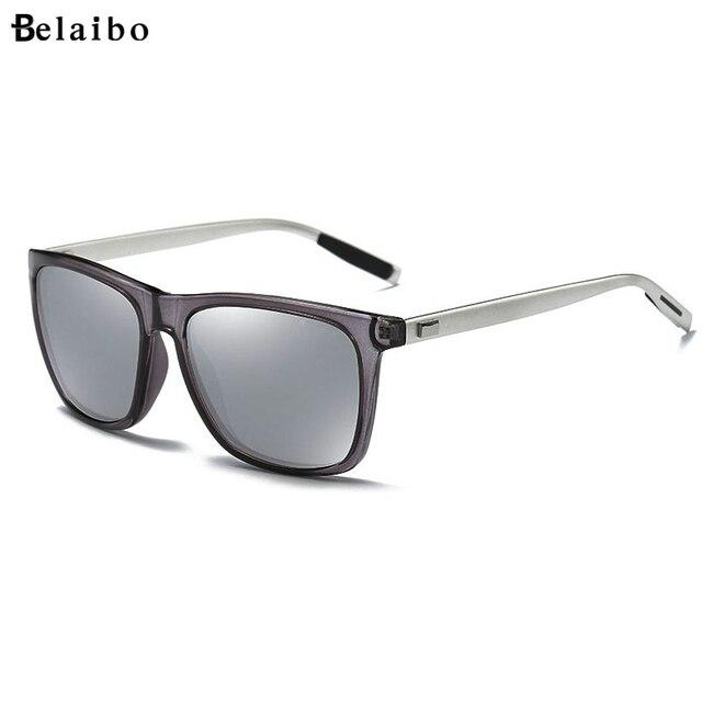 למעלה איכות גברים מקוטב משקפי שמש יוקרה מותג מעצב 2019 אופנה טייס נהיגה משקפיים שמש Mens שחור מחשב משקפי שמש