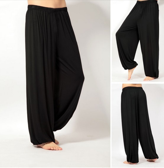 plus size  pants men and women bloomers pants home tai chi sweat Pants both free shipping