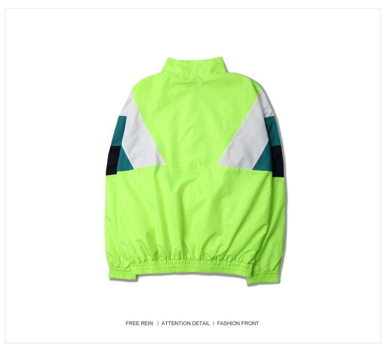 Men Jacket Gosha Rubchinskiy Classic Navy Tricolor Sport Long sleeve Windbreaker Jackets Hiphop Skateboards Couples Outwear S-XL (20)