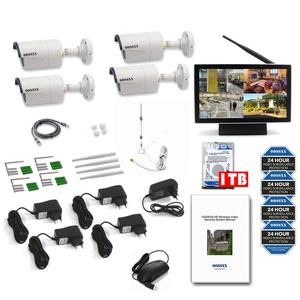 Image 4 - OOSSXX 8CH 1080P Wireless NVR Kit 10 Monitor Senza Fili del CCTV 4pcs 960P Indoor Macchina Fotografica Esterna del IP video Sistema di Sorveglianza