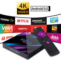 Smart TV Set Top Box Android 9.0 9 4K 4096x2160 HDR Bluetooth4.0 USB 3.0 HDMI 2.0a per 4k @ 60Hz DDR3 Supporto 3D video 2.4G/5G H96