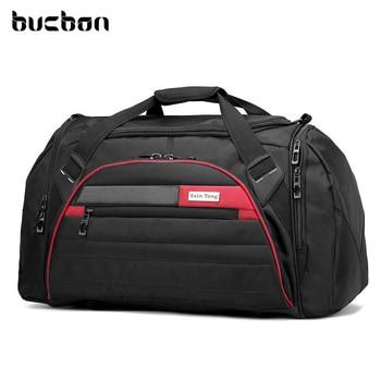 Bucbon 45l Large Multi-function Sport Bag Men Women Fitness Gym Bag Waterproof Outdoor Travel Sports Tote Shoulder Bags HAB092 1