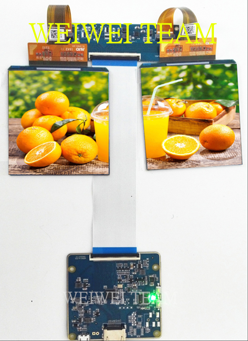HDMI-MIPI board 3.81 90hz 1080*1200 dual oled AMOLED Micro vr lcd display screen for VR Hamlet headsets Accept CustomizationHDMI-MIPI board 3.81 90hz 1080*1200 dual oled AMOLED Micro vr lcd display screen for VR Hamlet headsets Accept Customization