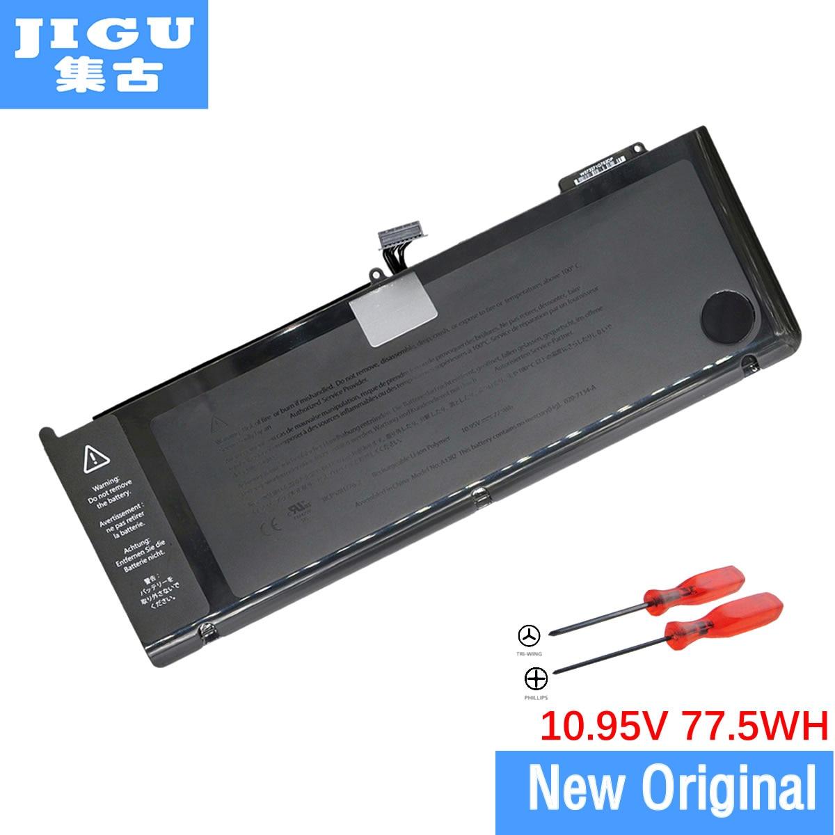 "MacBook Pro 15 ""A1286 MC721 MC723 üçün Apple üçün JIGU A1382 Orijinal noutbuk batareyası."