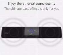 A3 16W Wireless Bluetooth Column Dual Speaker Subwoofer Home Theater Loudspeaker 3D Stereo Super Bass Speakers For Phone TV PC