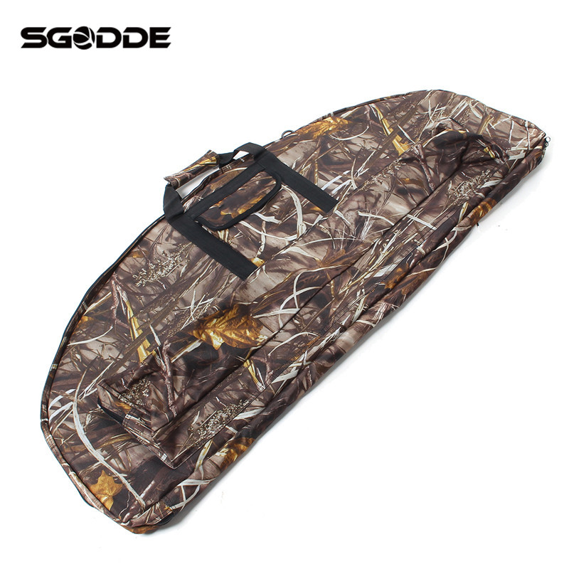 Hot Sale Outdoor Sports Hunting Camo Camouflage 115cm Compound Bow Bag Archery Arrow Car ...