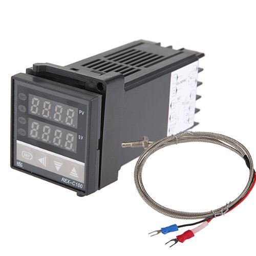 MYLB- Dual Digital F / C PID Temperature Controller with K Thermocouple
