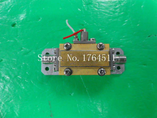 [BELLA] MITEQ MPN2-00200200-27P 10MHZ-2GHz 27dB 15V SMA RF Amplifier
