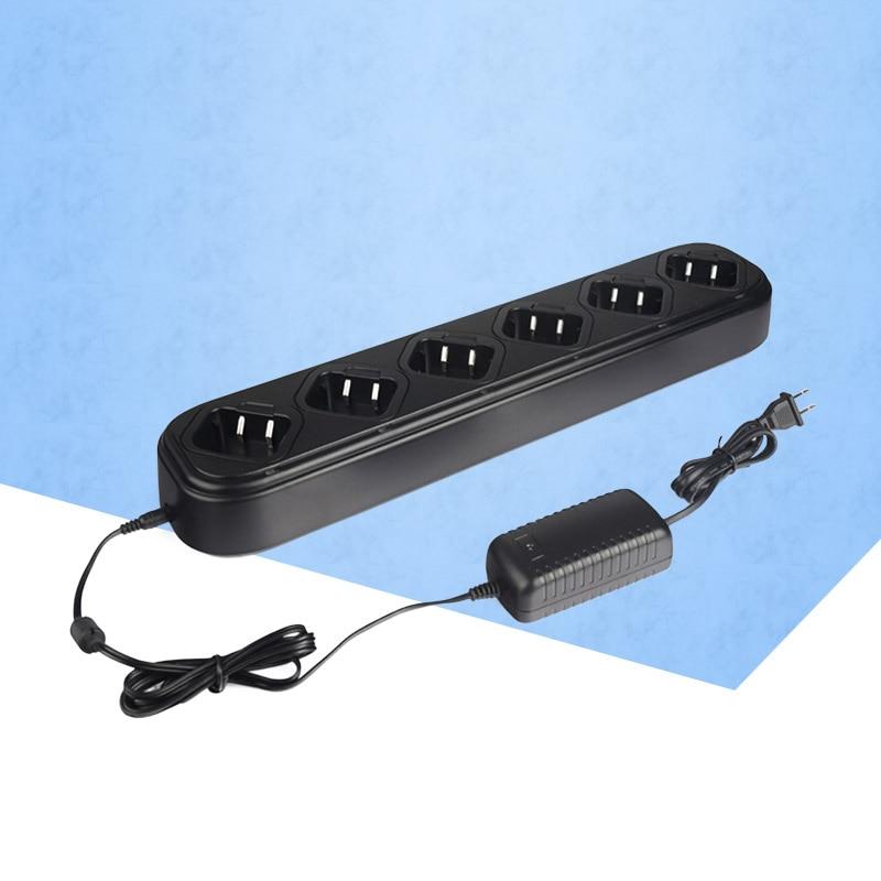 Unique Rangée Six Way Universal chargeur rapide pour Talkie Walkie Retevis ou baofeng H777 Baofeng BF 888 S Deux Way Ham radio C9042A