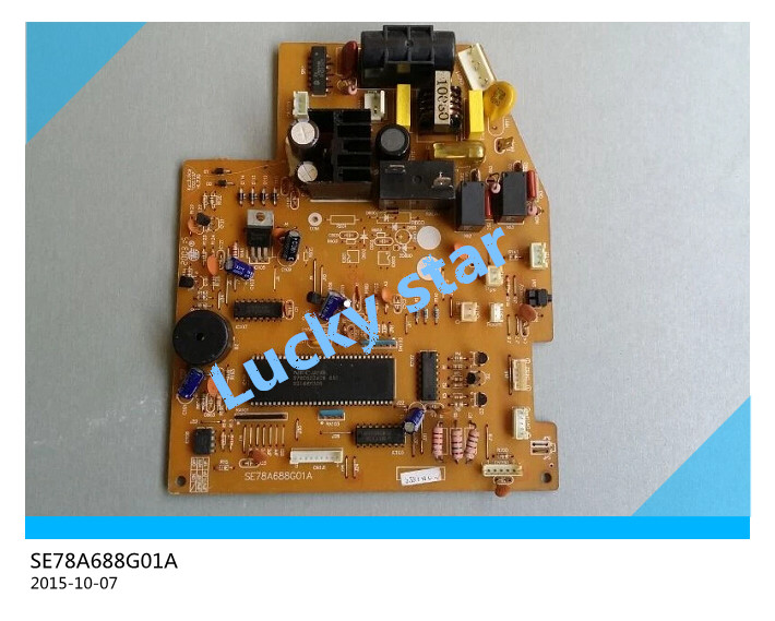 95% new for Valin Air conditioning computer board circuit board SE78A688G01A board good working 95% new for air conditioning computer board circuit board se78b821g02 board good working