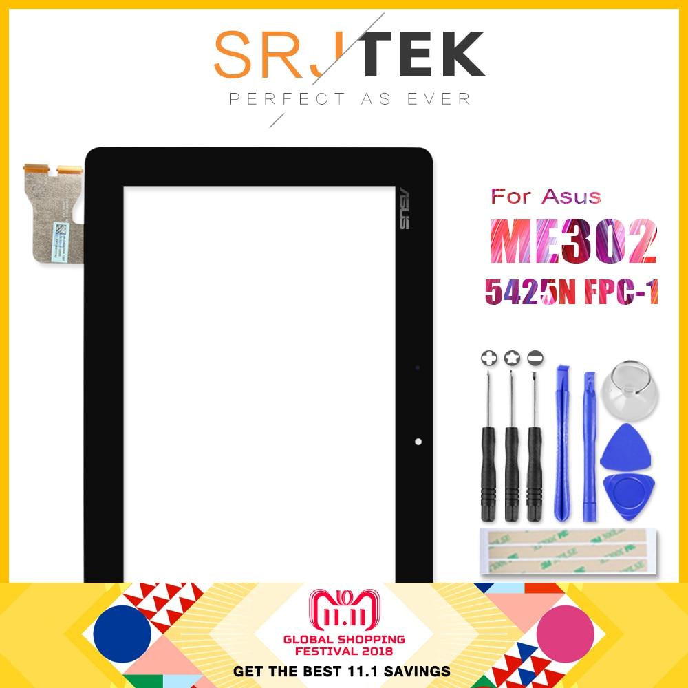 Original Para ASUS MeMO Pad FHD 10 ME302 ME302CL ME302KL K005 K00A 5425N FPC-1 de la Pantalla Táctil Digitalizador Del Sensor de Cristal Tablet Pc