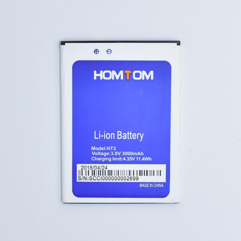 Hekiy Hohe Qualität New Backup-HT3 Batterie Für Homtom HT3 HT3 Pro 3,8 v 3000 mah Ersetzen Handy Batterien in Lager Aufladen