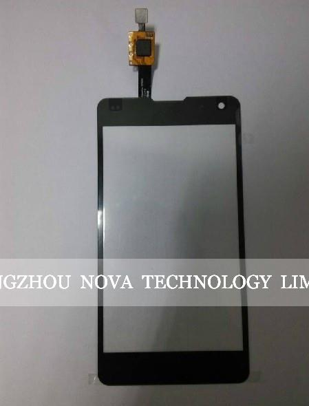 Tela preta para lg e975 optimus g touch screen digitador de vidro + 3 m adesivo com rastreamento
