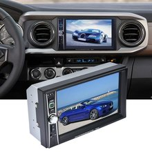 Professional 2 Din 7 inch Touch Screen Car Radio Mp5 Player Bluetooth Mp5 1080P Movie Support Rear View Camera Car Audio