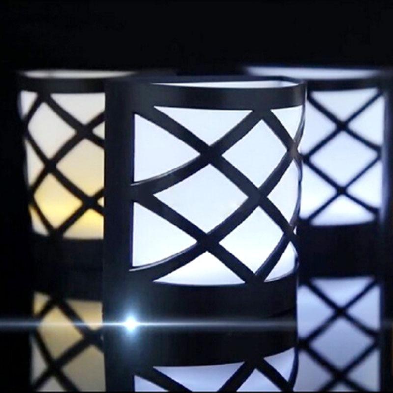 Solar Lamps 6LEDs Light sensor Solar Light waterproof for outdoor garden Fence Wall lamp