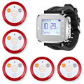 KERUI Fashionable & Hot Sale Black Waiter restaurant dining room Service Calling System Watch Pager Service System (KR-C166)