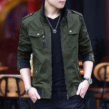 2019 New Wool Liner Jackets Men Washed Casual Slim Coat Parka Thick And Thin Fashion Jacket Owterwear Coats