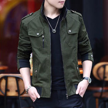 2019 New Wool Liner Jackets Men Washed Casual Slim Coat Men Parka Men Thick And Thin Fashion Jacket Owterwear Coats(China)