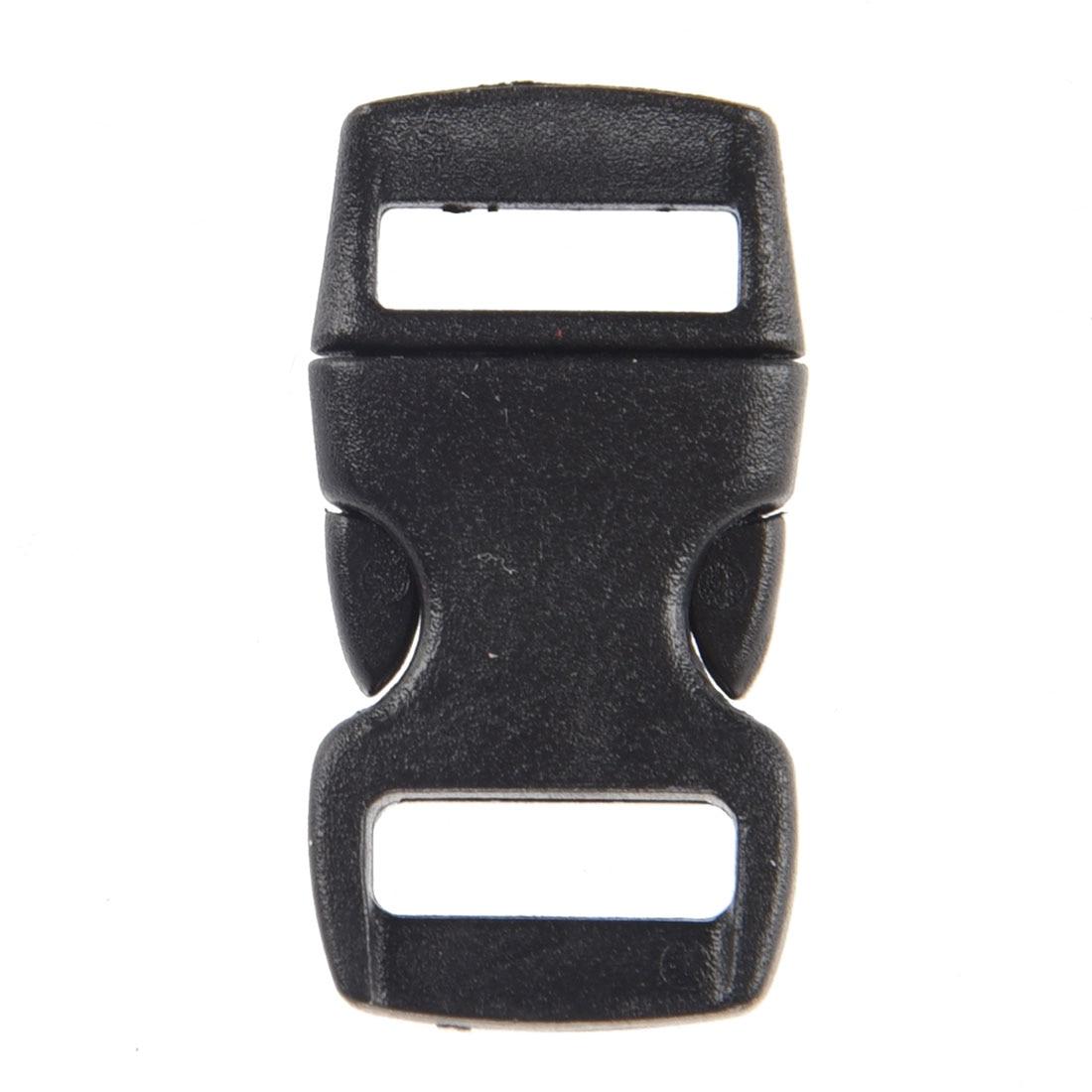 Discreet 50 X Plastic Sluiting Klik Sluiting Plug Deurdrangers Zwart Geurig Aroma