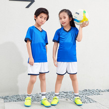 New Arrival Boy Girl Football Jerseys Kids Quick Dry Sports Uniforms School Students Training Clothes Children Sets