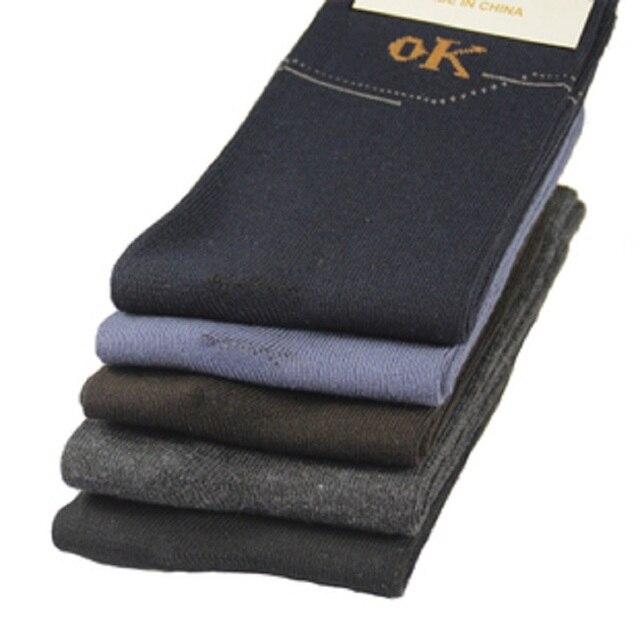 10 זוגות\חבילה גברים גרבי אביב גרביים תרמית דחיסת צינור כותנה גרבי גברים גרביים מקרית meias masculinas