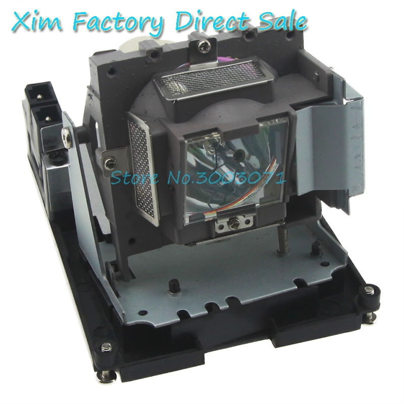 Free shipping High quality 5J.Y1H05.001 Compatible Projector lamp with housing for BENQ MP724 free shipping compatible projector lamp with housing r9832752 for barco rlm w8