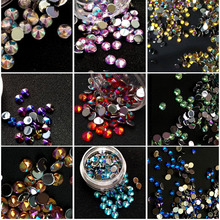 100 pcs/pack 4MM Star AB Rhinestones Tip Beauty Nail Art Decorations DIY  Drilling