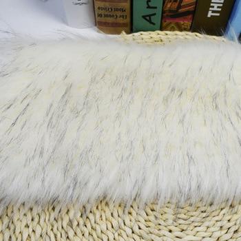 Flame retardant imitation raccoon fur faux fur for auto upholstery garment home textile
