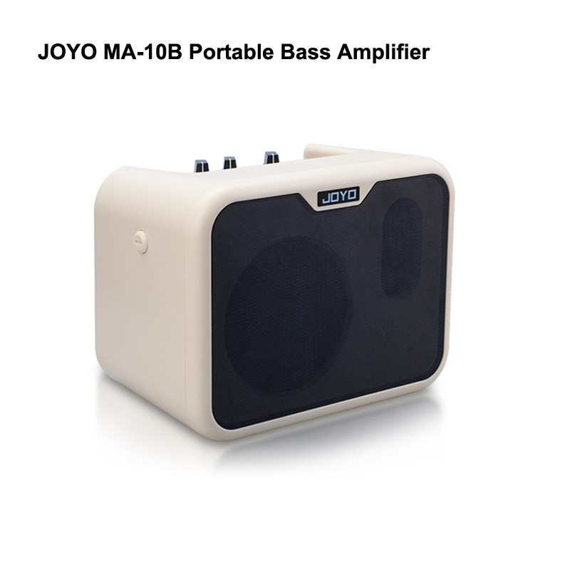 JOYO MA 10B Portable Bass Amplifier instruments guitar mini Amp Normal Bright Dual Channels with Speaker