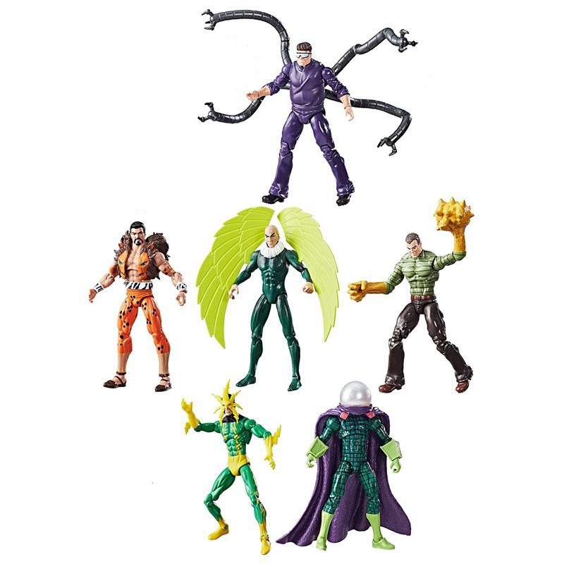 Figure-Toy Figurals-Collection Model-Gift Doctor Octopus Marvel Legends Spider-Man Sandman