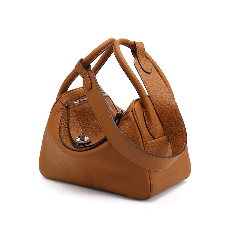 luxury Brand designer women bag Genuine leather handbags Female shoulder bags for ladies hand bags messenger bag Boston tote sac luxury genuine leather bag female designer smiley trapeze ladies hand bags handbags women famous brands shoulder bags sac femme