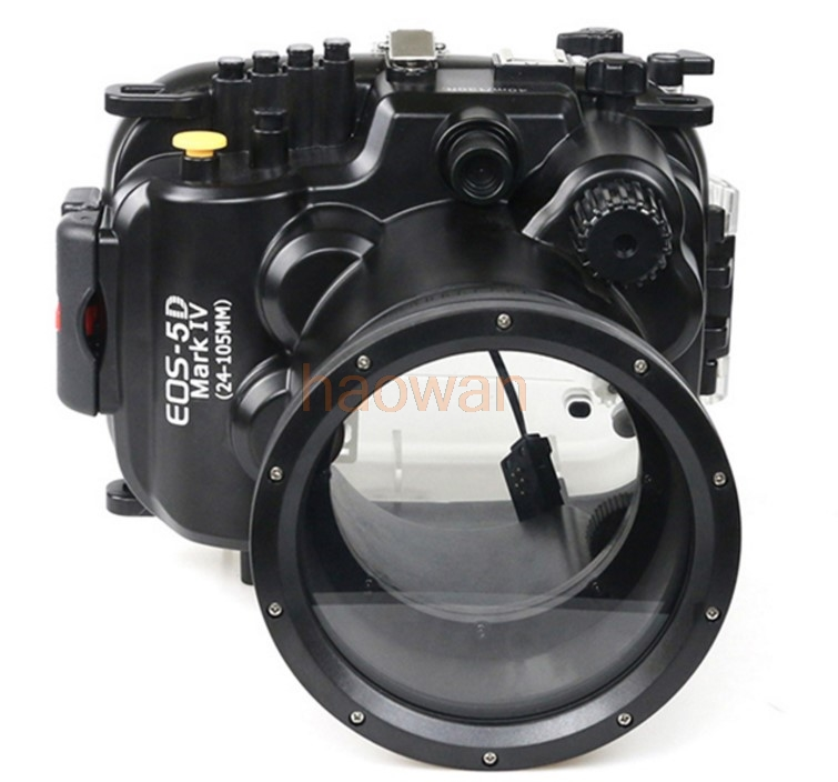 Waterproof Underwater Housing Camera Housing Case bag protector for Canon 5D4 5D Mark IV 24-105mm Lens 40m 130ft waterproof underwater diving camera housing case for sony a5000 16 50mm lens