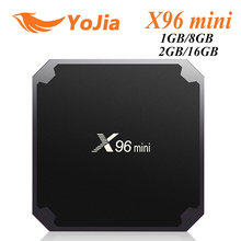X96 Mini Android 7.1 Smart TV BOX GB RAM 16 GB 1 GB 8 GB Amlogic S905W Quad Core hỗ trợ 4 K 30tps 2.4 GHz Wifi X96mini Set Top Box(China)