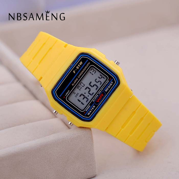 Fashion Sport Watch For Men Women Kid Colorful Electronic Led Digital Kids Watches Multifunction Jelly Wristwatch Clock Hour led digital sport students children watch kids watches boys girls clock child electronic wrist watch for boy girl surprise gift