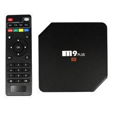 M9 Plus Android 5.1 TV Box Amlogic S905 Quad Core XBMC 4 K 2.4G/5 GHz Double Wifi 2 GB/16 GB KODI H.265 BT 4.0 DLNA Airplay Miracast