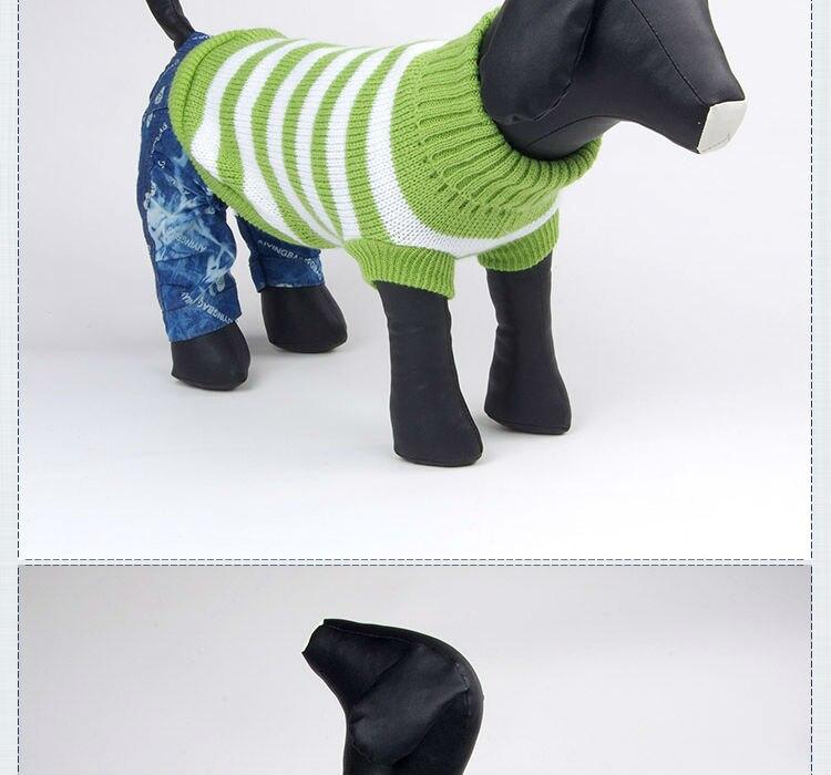 Envío Libre Suéter de Ganchillo Para Perros Otoño Invierno Ropa Para ...