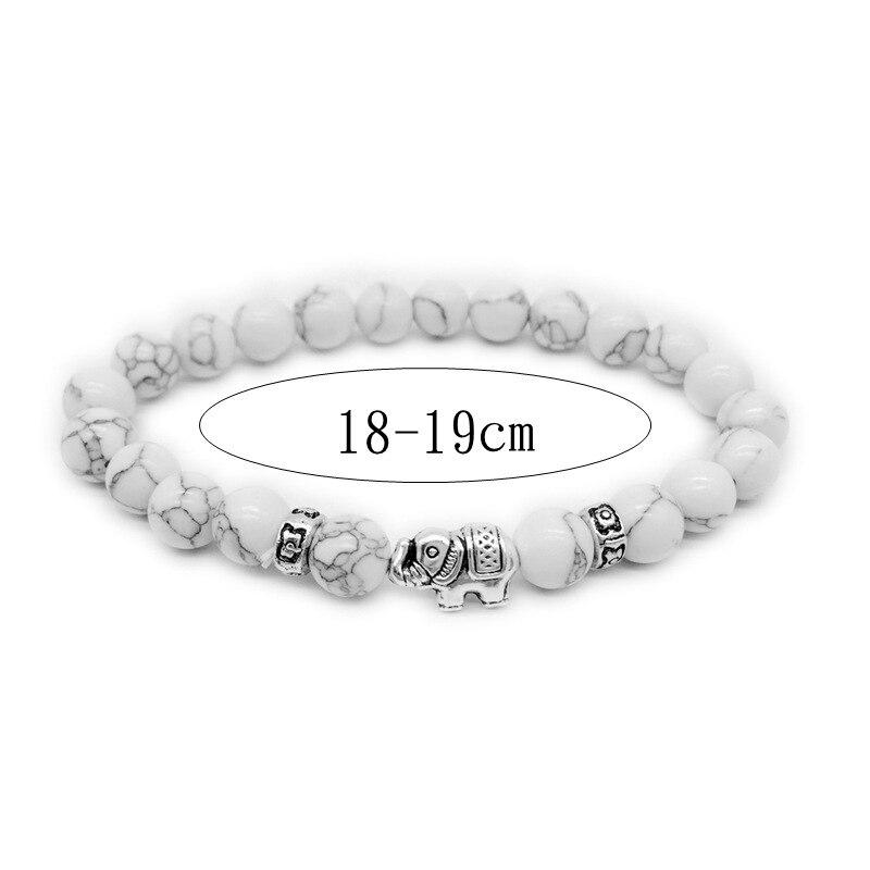 Natural Stone Bead Buddha Bracelets