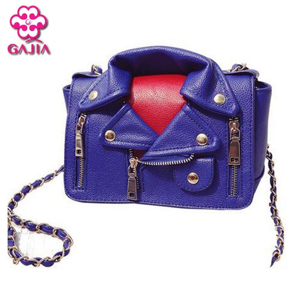 2016 newest promotional free shipping European American fashion Chain retro women leather shoulder Messenger bag cartoon