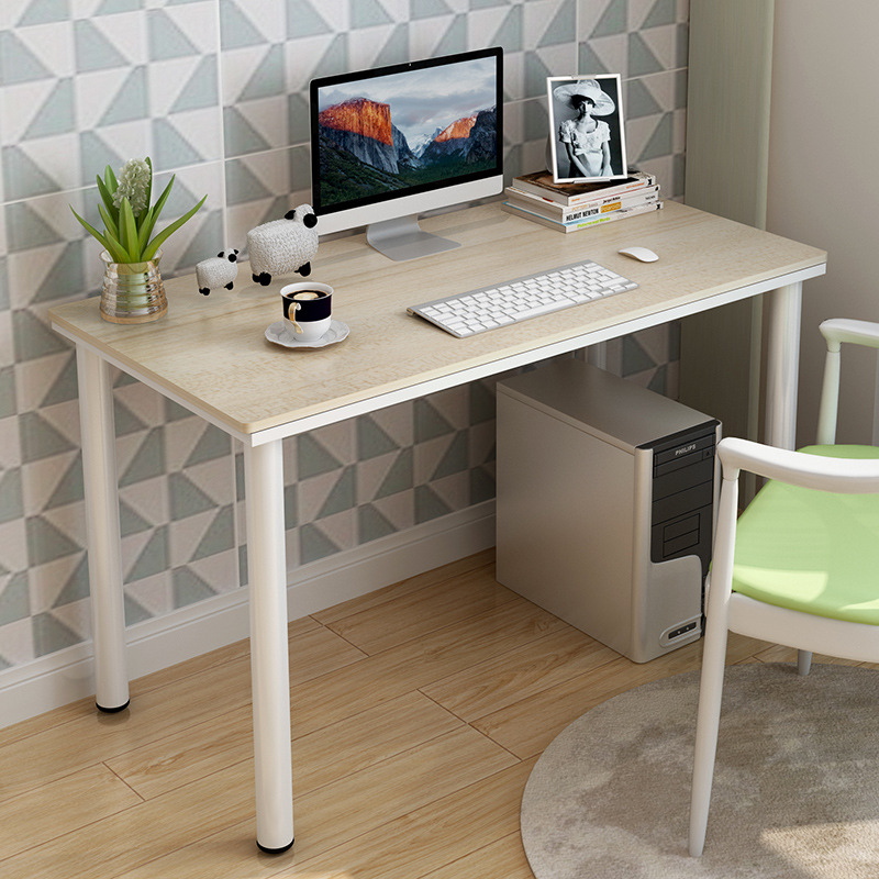 Simple Modern Desktop Home Office Desk Computer Desk Portable Laptop Table  Study Writing Table Computer Standing Desk