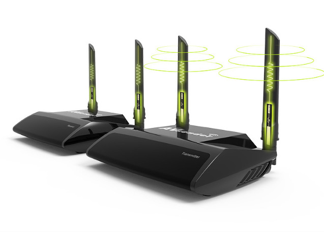 купить 2.4G/5G 1080P Wireless HDMI AV Video Transmitter Receiver IR Extender up to 100M hdmi extender HDMI Converter HDMI Cable AVC580+ по цене 8204.76 рублей