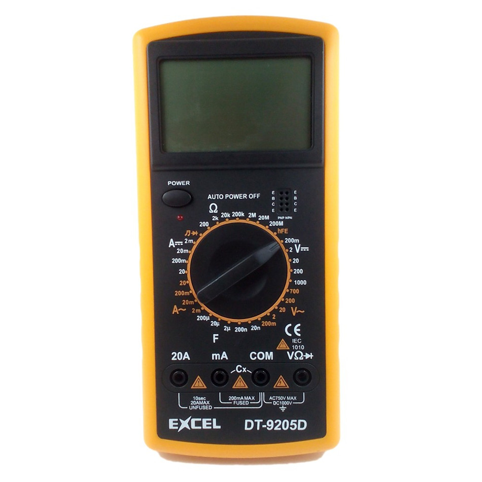 Digital Multimeter Transistor amplification tester Capacitance Resistance Tester Meter DC AC Current Voltage uxcell digital multimeter ac voltage current resistance capacitance frequency temperature tester meter 600mv 6v 60v 600v 1000v