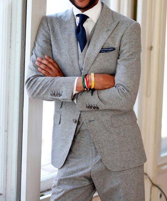 Popular Mens Slim Fit Grey Suit-Buy Cheap Mens Slim Fit Grey Suit ...